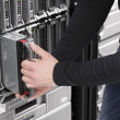IT Engineer maintain Blade Server in DatCenter — Stock Photo #28026191