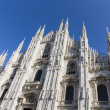 Milan Cathedral in Italy — Stock Photo