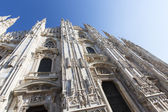 The Gothic Cathedral of Milan — 图库照片