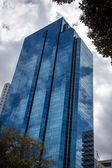 Contemporary skyscraper — Stock Photo