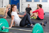 Crossfit exercise for flexibility and mobility — Stock Photo