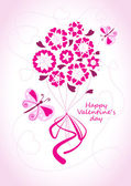 Valentine background — Stock Vector