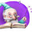 Wizard — Stock Photo