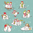 Vector illustration for Christmas design. — Stock Vector #31349355