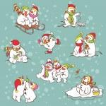 Vector illustration for Christmas design. — Stock Vector #31349355