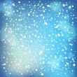 Snow and soft highlights background. — Stock Vector
