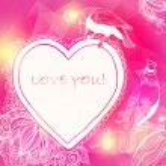 Love Heart Card — Stock Vector