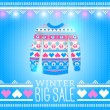 Sweater. Sale Winter Illustration — Vector de stock #40027705