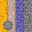 Polka Dot Seamless pattern. — Stock vektor