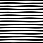 Striped Hand Drawn Seamless pattern. — Stock Vector