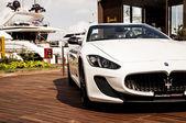 Maserati GranCabrio left side — Stock Photo