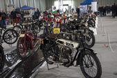Eski motosiklet — Stok fotoğraf