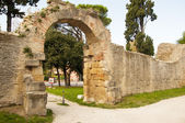 Ruins of the Roman Empire — Stock Photo