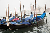 Italy venice - setember 2013 : Gondola in venice italy 2013 — Photo