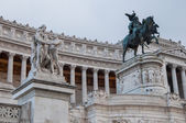 Particular The Vittoriano Monument in Rome — Stock Photo