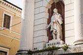 Statue of Gioacchino Rossini — Stock Photo