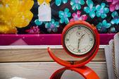Old fashioned alarm clock — Stock Photo