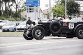 Mille miglia Bentley 4.5 Litre S.C. 1930 — Stock Photo