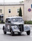 Mille miglia LanciaAprilia Berlina 13501937 — Stock Photo