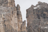Dolomites, Italy - Tre Cime di Lavaredo — Stock Photo