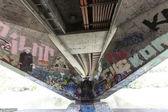 Under the bridge — Stock Photo