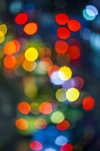 Blurred Defocused Lights of Heavy Traffic — Stock Photo