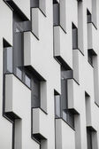 Windows on modern building — Stock Photo