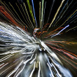 Speed of Light,abstract street — Stock Photo