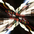 Stock Photo: Speed of Light,abstract street