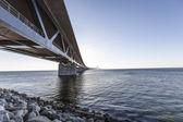 Oresundsbron, oresunds мост — Стоковое фото