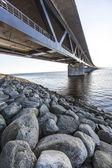 Oresundsbron, oresunds bridge — Stock Photo