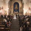 Stock Photo: Wedding in church