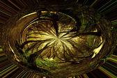 抽象的な森林背景モーションぼかし — ストック写真