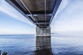 De sontbrug, oresunds bron — Stockfoto