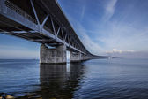 The Oresund Bridge,oresunds bron — Stock Photo