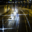 Car lights trails — Stock Photo #37975159