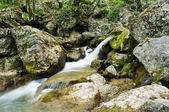 água em cascata — Foto Stock