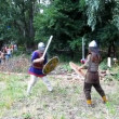 Medieval Knights duel. — Stockvideo