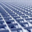 Stock Photo: Galvanized Grid