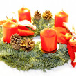 Advent Wreath — Stock Photo #26755903