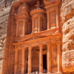 Petra Treasury — Stock Photo