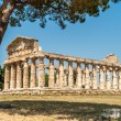Ruins in Paestum — Stock Photo