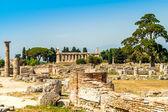 Ruinas de paestum — Foto de Stock