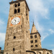 Towers in Aosta — Stock Photo