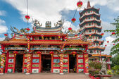 Chinese tempel in tuaran — Stockfoto