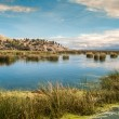 Voyage at Titicaca Lake — Stock Photo