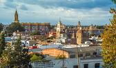 View at Monastery San Gabriel in Cholula — Stock Photo