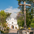 Stock Photo: Cemetery in Antigua