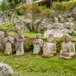 Statues in Garden — Stock Photo