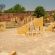 Astronomy instruments in Jantar Mantar — Stock Photo